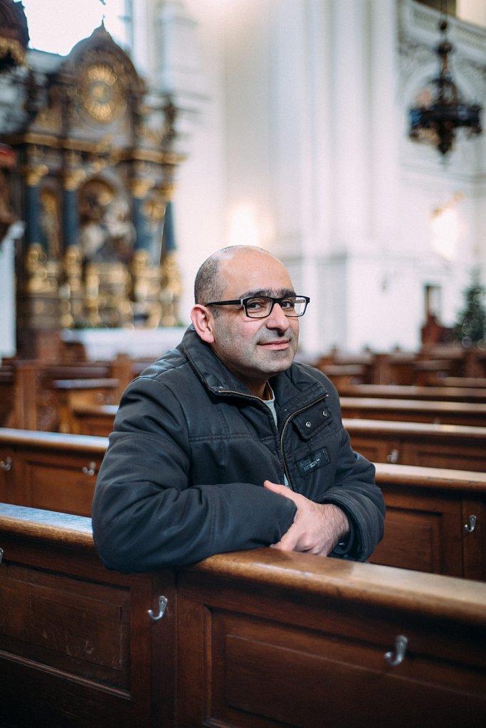 Portrait of Maziar, Munich Germany 2017